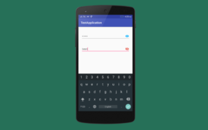 Password Visibility Android